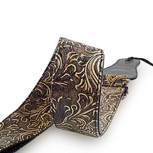 mugig-vintage-guitar-bass-strap-wide-adjustment-range-and-secure-holes-suitable-for-all-ages