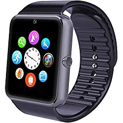 Smartwatch,Willful Reloj Inteligente Android con Ranura para tarjeta SIM, Pulsera Actividad Inteligente para Deporte, Reloj Iinteligente hombre mujer niños, Reloj de fitness con podómetro monitores de actividad , Calorías, Distancia, Sueño, Fotografía remota, Control de la música, Recordatorio sedentario, Alarma,Calculadora, Calendario, Grabación, Anti-perdida, Encuentra el teléfono, Notificación de mensajes(WhatsAPP, Call, SMS, Facebook etc) reloj deportivo para Xiaomi/ Huawei etc. Smart Phone