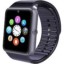 Willful Smartwatch, Reloj Inteligente Android con Ranura para Tarjeta SIM,Pulsera Actividad Inteligente para