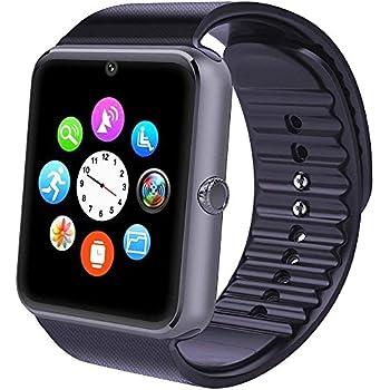 Willful Smartwatch, Reloj Inteligente Android con Ranura para Tarjeta SIM,Pulsera Actividad Inteligente para Deporte, Reloj Iinteligente Hombre Mujer niños, ...