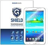 G-Shield Displayschutzfolie für Samsung Galaxy Tab 3 (7 Zoll) Tablet Gehärtetem Glas Schutzfolie Screen Protector Folie Displayschutz Anti-Kratz Ultra Klar 9H Härte