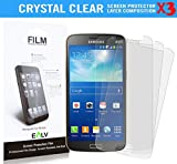 Grand 2 Screen Protector **[ PACK OF 3 PIECES ]**, E LV Samsung Galaxy Grand 2 CRYSTAL CLEAR HD Screen Guard for Samsung Galaxy Grand 2