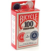 Bicycle Poker Chips – 100 Count con 3 colores