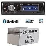 Audi A4 B5 - Autoradio Radio Caliber RMD020BT - Bluetooth | MP3 | USB | Einbauzubehör - Einbauset