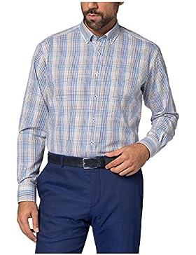 ETERNA long sleeve Shirt COMFORT FIT Poplin checked