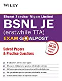 Wiley's BSNL JE (Erstwhile TTA) Exam Goalpost Solved Papers & Practice Questions
