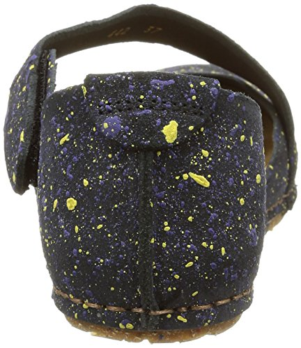 Art Creta 442, Sandales Femme Multicolore (Dotted Black)