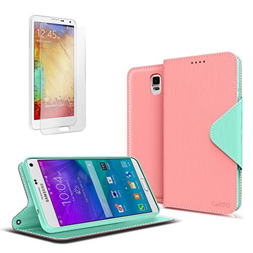 galaxy-note-4-case-cellto-pu-leather-wallet-cover-stand-and-reversible-magnetic-flap-lifetime-warran