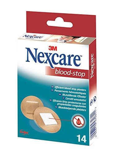 Rasieren, Haut-behandlung (Nexcare N1714NS Blood Stop Spots 14 Stück)