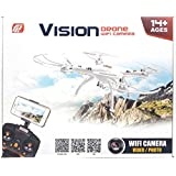 Jack Royal Remote Control Camera With App Supporting And Controlling 360 Degree Flip Cation 4.5Ch , 6 Axis Gyro Quadcopter (Color May Vary) Black Or White