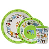 Jungle Print Melamine Children