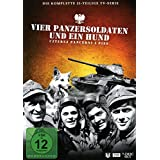 Vier Panzersoldaten und ein Hund