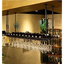 Weinregale Weinglas-Rack, Regal-Wein-Glas-Halter, Weinglas-Rack, Weinglas-Rack, Champagner-Glas-Rack, Glaswaren-Rack Stemware Racks ( Farbe : B , größe : L80*w30cm )