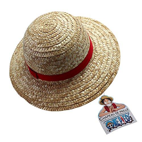 One Piece Luffy sombrero de paja para niños
