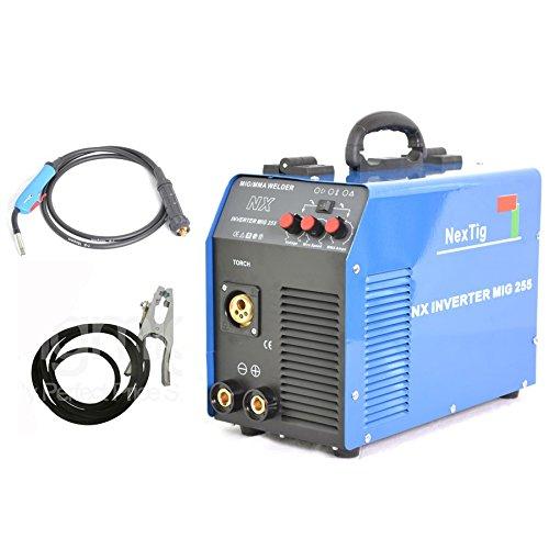 Preisvergleich Produktbild Schweißgerät Inverter A Endlosfasern NX Inverter MIG 255250Amper IGBT