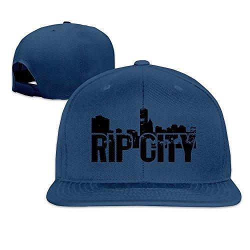 Trail Blazers Basketball Rip City Skyline Men Women Baseball Hats Navy