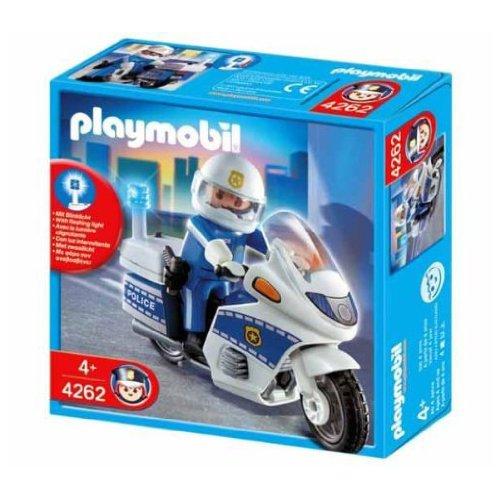 Playmobil - Policía Moto De Policía (4262)