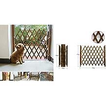 LaCyan Barrera de Seguridad para Puerta de Perro Puerta Divisoria (L)