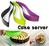 #7: 1 Piece Premier Plastic Kitchen Ergonomic Design Cake Pastry Server Cutter And Slicer (random Color)