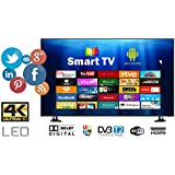 "Tv Led 55"" 4K et Smart TV Wifi ICARUS"