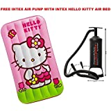 "Intex Hello Kitty Air Bed Pink (34"" X 62"" X 7"")"