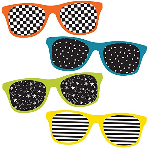 School Pop Sunglasses Mini Cut-outs