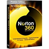 Norton 360 v4.0 Premier Edition - 1 User 3 (PC) [Import]