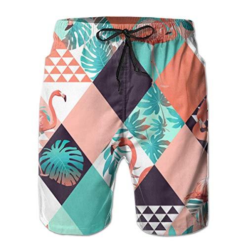 Preisvergleich Produktbild Small Dinner Afternoon Cake Swim Shorts Men's Swim Trunks Beach Shorts Board ShortsMen's Beach Shorts Quick Dry Summer Surfing Trunks Surf Board Shorts Beach Pants With Pockets For Men XX-Large