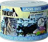 Tundra Katzenfutter Lachs & Ente, Nassfutter - getreidefrei (200g)