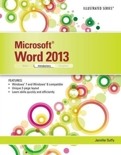 Microsoft Word 2013: Illustrated Introductory by Jennifer Duffy (2013-07-24)