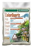 Dennerle 6913 Color-Quarzkies, light grau, 5 kg