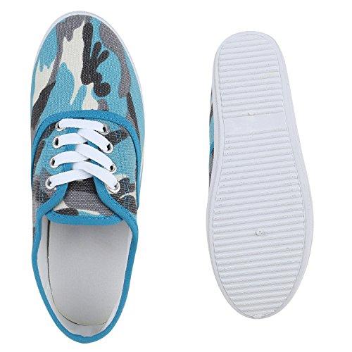 Sneakers Da Uomo Sportive Da Donna Unisex Basic Per Il Tempo Libero Scarpe Stringate Con Lacci Scarpe Da Ginnastica Molti Colori Flanders Blu Camouflage