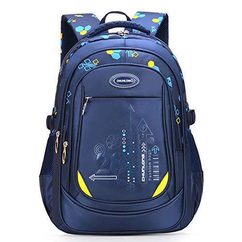 Bageek Kids Backpack Large Capacity Student Backpack School Book Bag Travel Backpack