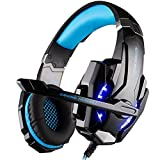 [Gaming Headset für PS4] Kingtop EACH G9000 Gaming Headset Musick