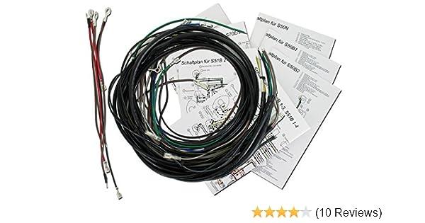 AKA Electric Kabelbaumset, Basisausstattung mit Schaltplan - für ...