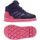 adidas Unisex Baby AltaSport Mid EL I Sneaker, Mehrfarbig (Tinnob/Pumeno / Supros), 23 EU