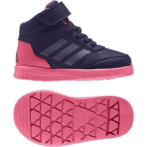 adidas AltaSport Mid El I, Baskets Mixte bébé, Multicolore (Tinnob/Pumeno/Supros), 22 EU
