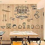 Fototapete lebensmittel wandbild gebackenes brot shop tee shop kuchen shop cafe restaurant freizeit bar dekoration retro holz tapete wandbild, 150 * 105 cm