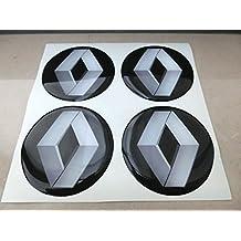 50 mm nero tuning effetto 3d 3m resinato coprimozzi borchie caps adesivi stickers per cerchi in lega x 4 pezzi