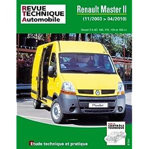Renault Master II Phase 2 2.5 DCI 11/03>04/10