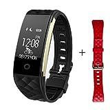 ELECING 2017 Neuestes Bluetooth FitnessTracker Sport Smart Armband Berühren Bildschirm Armband und Pedometer Armband mit Schrittzähler / Kalorienzähler / Schlaf-Monitor / Wecker