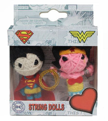 SUPERMAN Originals, Superman-Wonder Woman, Officially Licensed Original DC Co