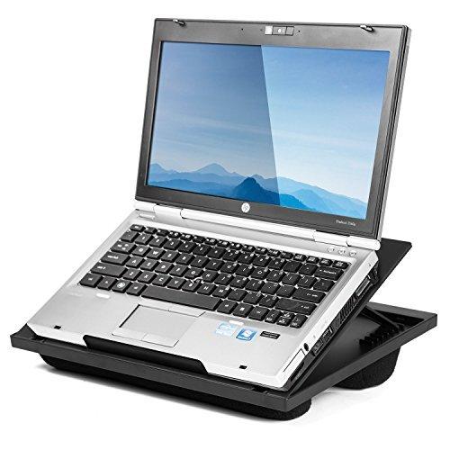 Halter - Soporte de escritorio para ordenador portátil con 8 ángulos ajustables...