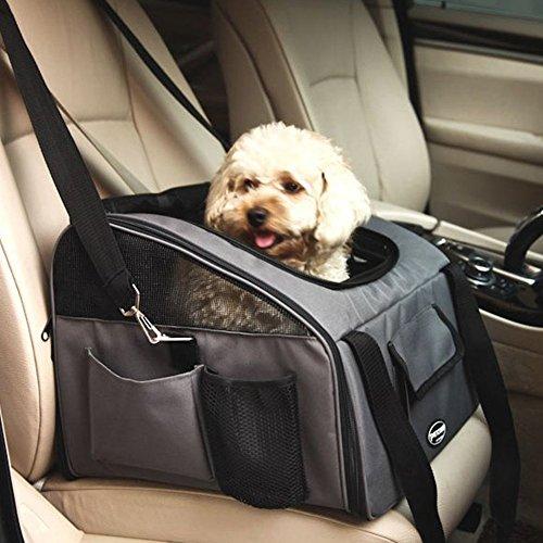 Faltbare Hundebox Hundetransportbox Autobox Transportbox Haustier-Transportbox mit Griffen für Tier und Hunde