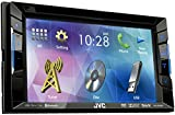 JVC KW-V220BT Autoradio DVD/CD/USB con Monitor 6.2'', Nero
