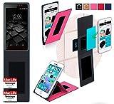 reboon Hülle für UMi Fair Tasche Cover Case Bumper | Pink | Testsieger