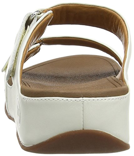 Fitflop Goodstock, Sandales Femme Blanc Urban White Faible