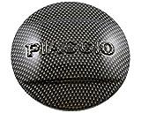 Abdeckung Variodeckel LEADER, SIP mit PIAGGIO Schriftzug Kunststoff, carbon-look, 3x Gummibuchsen Art. Nr. PI871458 mitbestellen für VESPA GTS Super i.e. 125 ZAPM45300 4T LC 09-
