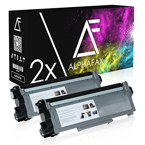 2 Toner kompatibel zu Dell E310 für E310dw, E514dw, E515dn, E515dw - 593-BBLH - Schwarz je 5.200 Seiten -