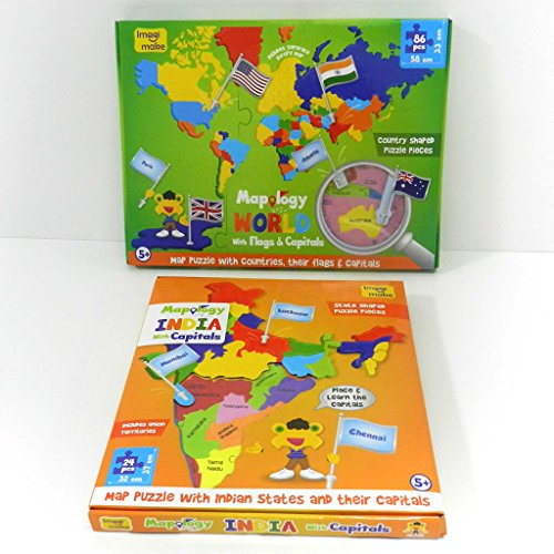 Imagimake india and world map with capitals and countries flags imagimake india and world map with capitals and countries flags educational toys gumiabroncs Images